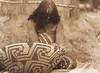Havachach Weaving - Maricopa (Indians of North America, v. II. Cambridge, MA: The University Press, 1908)