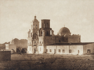 Mission San Xavier del Bac [Papago] (Indians of North America, v. II. Cambridge, MA: The University Press, 1908)