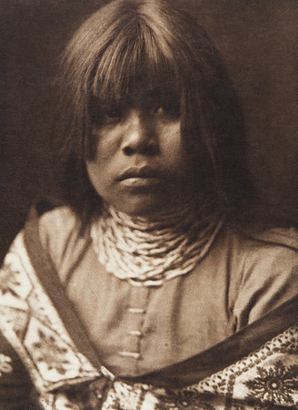 Yuma Maiden (Indians of North America, v. II. Cambridge, MA: The University Press, 1908)