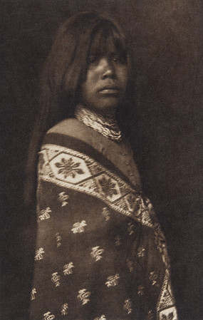 Yuma Girl (Indians of North America, v. II. Cambridge, MA: The University Press, 1908)