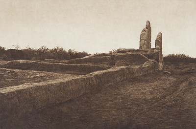 Casa Grande Ruin [Pima] (Indians of North America, v. II. Cambridge, MA: The University Press, 1908)