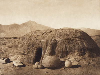 A Pima Home (Indians of North America, v. II. Cambridge, MA: The University Press, 1908)