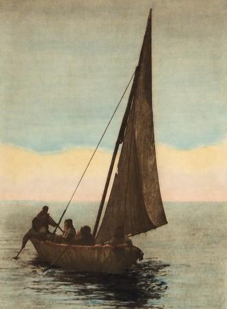 On Kotzebue Sound (The North American Indian, v. XX. Norwood, MA, The Plimpton Press,  1930)