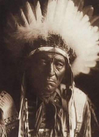 Iron Plume - Ogalala (Indians of North America, v. III. Cambridge, MA: The University Press, 1908)