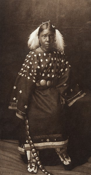 Ogalala Child (Indians of North America, v. III. Cambridge, MA: The University Press, 1908)