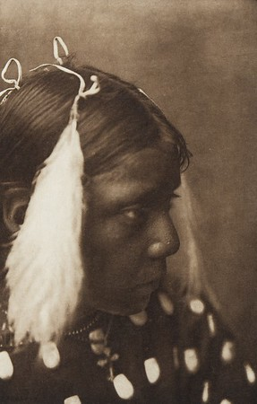 Red Cloud's Graddaughter [Ogalala Chief's granddaughter] (Indians of North America, v. III. Cambridge, MA: The University Press, 1908)