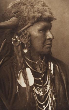 White Man Runs Him [Crow] (Indians of North America, v. III. Cambridge, MA: The University Press, 1908)