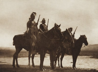Custer's Crow Scouts (Indians of North America, v. III. Cambridge, MA: The University Press, 1908)