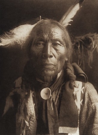 Struck By Crow - Ogalala (Indians of North America, v. III. Cambridge, MA: The University Press, 1908)