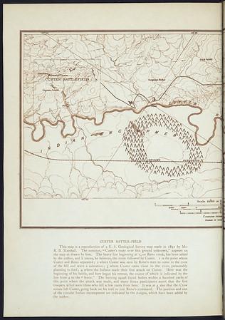 Custer Battle-Field (Part 1) (Indians of North America, v. III. Cambridge, MA: The University Press, 1908)