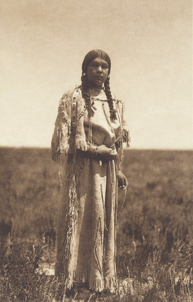 """""""The Chief Had a Beautiful Daughter"""" [Apsaroke] (Indians of North America, v. IV. Cambridge, MA: The University Press, 1909)"""