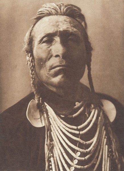 Goes Ahead - Apsaroke (Indians of North America, v. IV. Cambridge, MA: The University Press, 1909)