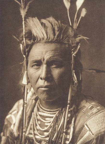 Spotted Jack-Rabbit - Apsaroke (Indians of North America, v. IV. Cambridge, MA: The University Press, 1909)