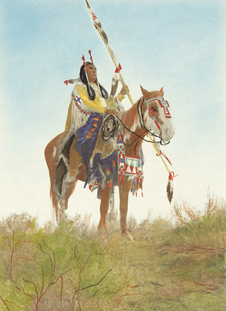 Apsaroke Horse Trappings (Indians of North America, v. IV. Cambridge, MA: The University Press, 1909)