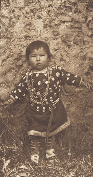 A Baby Apsaroke (Indians of North America, v. IV. Cambridge, MA: The University Press, 1909)