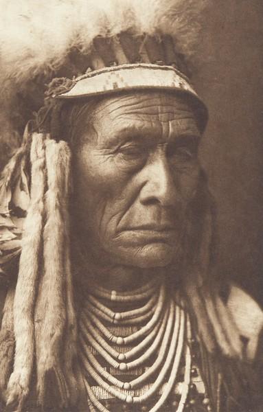 Skins Wolf - Apsaroke (Indians of North America, v. IV. Cambridge, MA: The University Press, 1909)