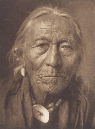 Hunts the Enemy - Apsaroke (Indians of North America, v. IV. Cambridge, MA: The University Press, 1909)
