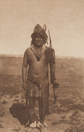 Yellow Hawk - Yanktonai (Indians of North America, v. III. Cambridge, MA: The University Press, 1908)