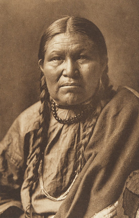 Cheyenne Woman (The North American Indian, v. VI. Cambridge, MA: The University Press, 1911)
