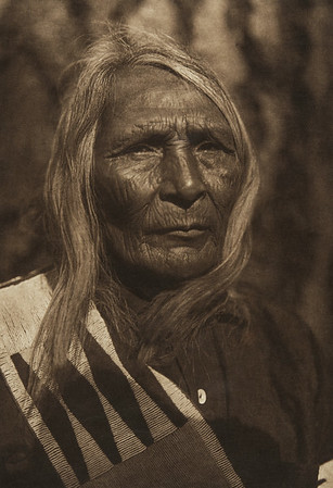 Ahlahlemila - Flathead (The North American Indian, v. VII. Norwood, MA: The Plimpton Press, 1911)