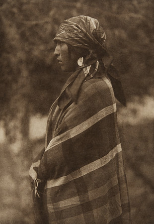 Flathead Maiden (The North American Indian, v. VII. Norwood, MA: The Plimpton Press, 1911)