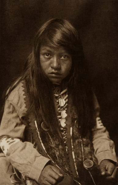 Yakima Boy (The North American Indian, v. VII. Norwood, MA: The Plimpton Press, 1911)