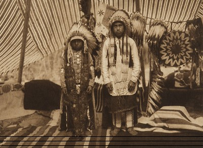Sons of a Yakima Chief (The North American Indian, v. VII. Norwood, MA: The Plimpton Press, 1911)