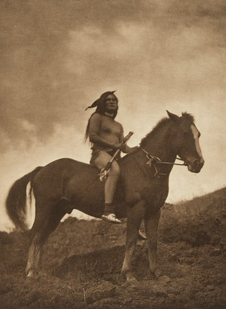 The Old-Time Warrior - Nez Perce (The North American Indian, v. VIII. Norwood, MA: The Plimpton Press, 1911)