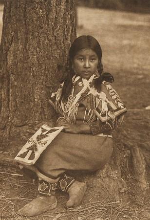 Umatilla Child (The North American Indian, v. VIII. Norwood, MA: The Plimpton Press, 1911)