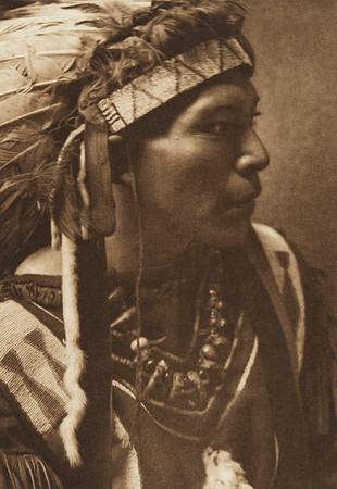 Cayuse Youth (The North American Indian, v. VIII. Norwood, MA: The Plimpton Press, 1911)
