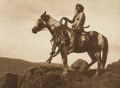Nez Perce Warrior (The North American Indian, v. VIII. Norwood, MA: The Plimpton Press, 1911)