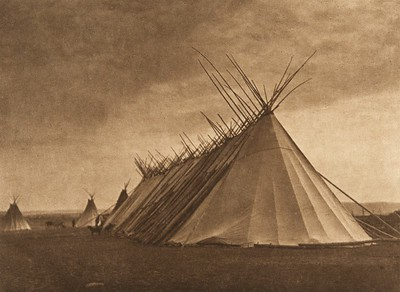 Joseph Dead Feast Lodge - Nez Perce (The North American Indian, v. VIII. Norwood, MA: The Plimpton Press, 1911)