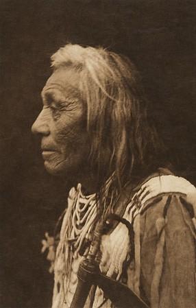 Cayuse Profile (The North American Indian, v. VIII. Norwood, MA: The Plimpton Press, 1911)