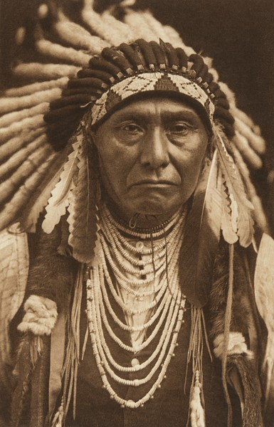 Joseph - Nez Perce (The North American Indian, v. VIII. Norwood, MA: The Plimpton Press, 1911)