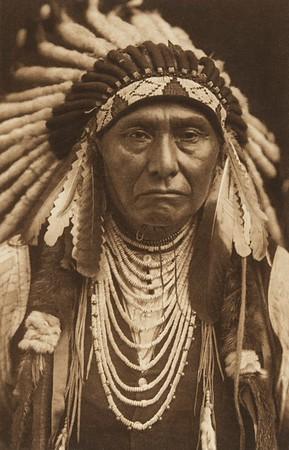 Joseph - Nez Perce (The North American Indian, v. VIII. Norwood, MA: The Plimpton Press, 1911)