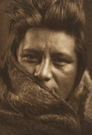 A Young Umatilla (The North American Indian, v. VIII. Norwood, MA: The Plimpton Press, 1911)