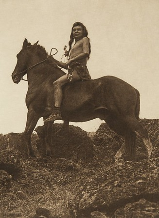 The Scout - Nez Perce (The North American Indian, v. VIII. Norwood, MA: The Plimpton Press, 1911)