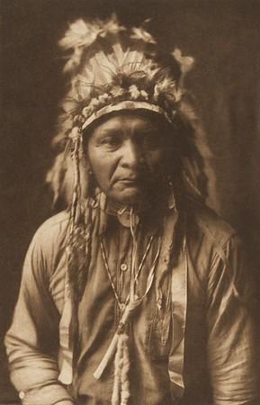 Half-Shorn - Nez Perce (The North American Indian, v. VIII. Norwood, MA: The Plimpton Press, 1911)