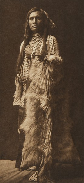 A Young Nez Perce (The North American Indian, v. VIII. Norwood, MA: The Plimpton Press, 1911)