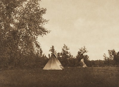 Last Home of Joseph - Nez Perce (The North American Indian, v. VIII. Norwood, MA: The Plimpton Press, 1911)