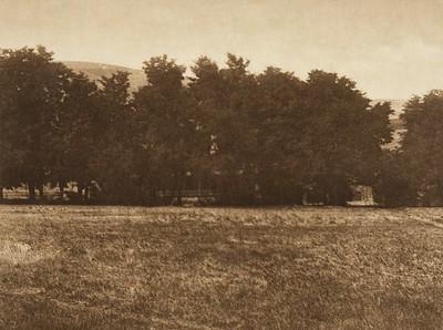 Fort Lapwai [Nez Perce] (The North American Indian, v. VIII. Norwood, MA: The Plimpton Press, 1911)