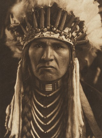 A Typical Nez Perce (The North American Indian, v. VIII. Norwood, MA: The Plimpton Press, 1911)