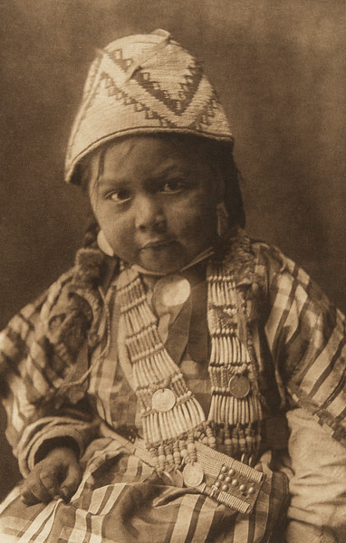 Wishham Child (The North American Indian, v. VIII. Norwood, MA: The Plimpton Press, 1911)