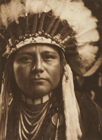 A Young Warrior - Nez Perce (The North American Indian, v. VIII. Norwood, MA: The Plimpton Press, 1911)