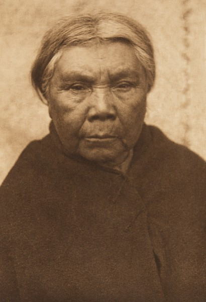 Cowichan Woman (The North American Indian, v. IX. Norwood, MA: The Plimpton Press, 1913)