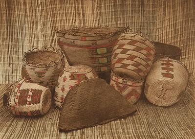 Skokomish Baskets (The North American Indian, v. IX. Norwood, MA: The Plimpton Press, 1913)