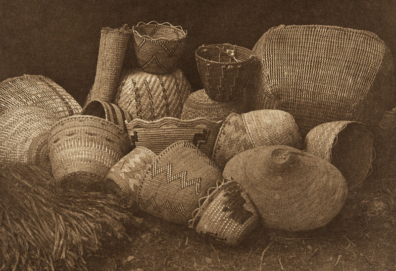Quinault Handiwork (The North American Indian, v. IX. Norwood, MA: The Plimpton Press, 1913)