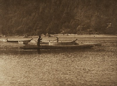 The Mouth of Quinault River (The North American Indian, v. IX. Norwood, MA: The Plimpton Press, 1913)