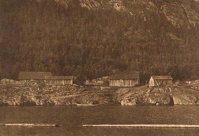 Henipsum Village - Cowichan (The North American Indian, v. IX. Norwood, MA: The Plimpton Press, 1913)