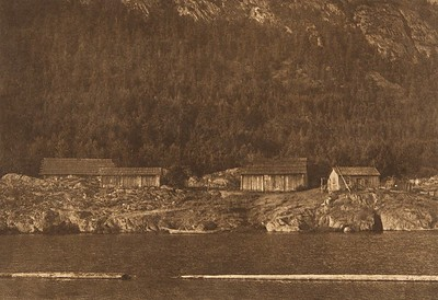 Henipsum Village - Cowichan (The North American Indian, v. IX. Norwood, MA: The Plimpton Press, 1913)